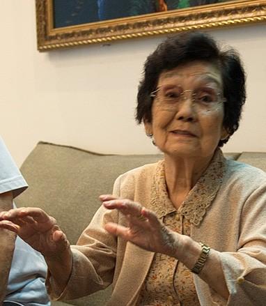 Bà Nakamura Nobuko (ảnh T.Trung)