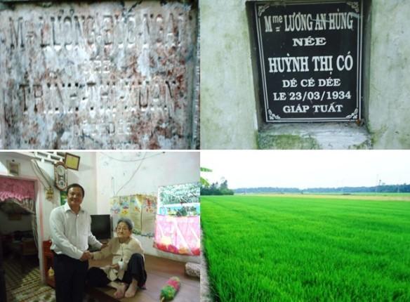 Rằm xuân thăm thầy Lương Định Của tại ấp Ngãi Hòa, xã Đại Ngãi  (ảnh Hoàng Kim)